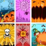 Halloween cards Royalty Free Stock Images