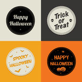 Halloween cards Stock Image