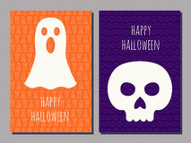 Halloween cards Stock Photography