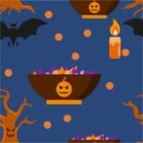 Halloween Cartoon Character Vector Template Stock Photography