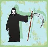 Halloween cartoon grim, vector icon. Royalty Free Stock Photos