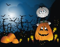Halloween cartoon  vector Royalty Free Stock Photography