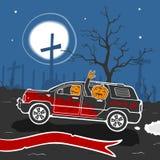 Halloween Cartoon Vector Illustration Stock Photography