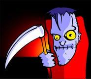 Halloween Cartoon Zombie Royalty Free Stock Photography