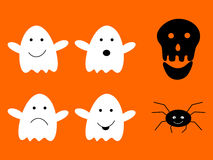 Halloween Cartoons Stock Images