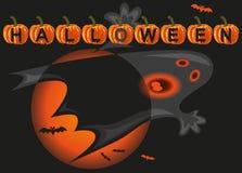 Halloween cast royalty free illustration