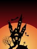 Halloween castle Royalty Free Stock Photo