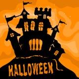 Halloween Castle Stock Photo