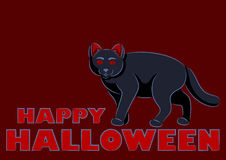 Halloween Cat Stock Photography