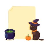 Halloween Cat Royalty Free Stock Photography