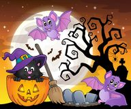 Halloween cat theme image 5 Royalty Free Stock Photo