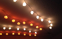 Halloween ceiling  lights Royalty Free Stock Photos