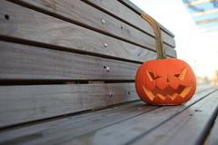 Halloween. The celebration of Halloween pumpkin with candle symbol royalty free stock photography