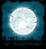 Halloween cemetery Royalty Free Stock Photos