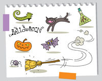 Halloween certoons Royalty Free Stock Image