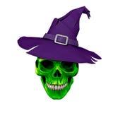 Halloween Chamber of Skulls Digital Art Royalty Free Stock Photos