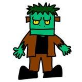 Halloween character cartoon. Royalty Free Stock Image