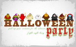 Halloween character for Costume Party Royalty Free Stock Image