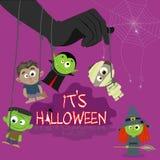 Halloween character Stock Image