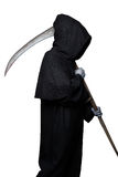 Halloween character: grim reaper Stock Photo