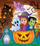 Halloween character image 5 Royalty Free Stock Photo