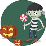 Halloween character Royalty Free Stock Image
