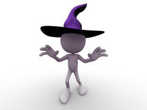 Halloween Character scary Stock Images
