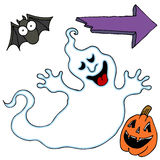 Halloween Character Set Royalty Free Stock Photography