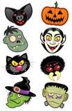 Halloween Characters Stock Photos