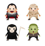 Halloween Characters Royalty Free Stock Image
