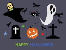 Halloween characters : High resolution jpeg included.. Halloween characters : High resolution jpeg included Stock Images