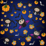 Halloween characters Tanoshi Doll Royalty Free Stock Image