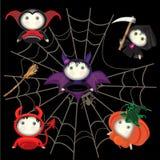 Halloween characters TanoshiDoll Royalty Free Stock Images