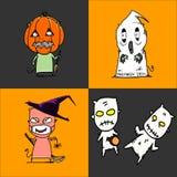 Halloween charactor Stock Photos