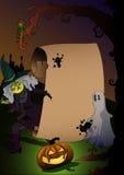 Halloween-Charaktere Stockfotografie