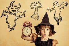 Halloween child Royalty Free Stock Image