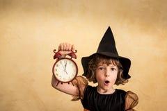 Halloween child Stock Photos