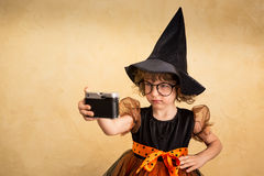 Halloween child Stock Images