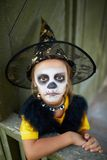 Halloween child Royalty Free Stock Photography