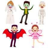 Halloween Children Costumes Royalty Free Stock Photography