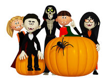 Halloween children Stock Photos