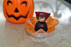 Halloween chocolate bonbon Royalty Free Stock Photography