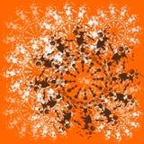 Halloween-cirkel vector illustratie