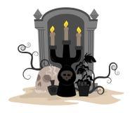 Halloween-Clipart Stockfoto