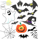 Halloween clipart vector Royalty Free Stock Image