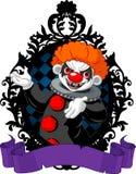 Halloween-clown stock illustratie