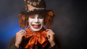 Halloween clown. The clown suit Royalty Free Stock Photos