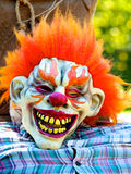 Halloween Clown Mask Royalty Free Stock Image