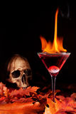 Halloween cocktail stock photography