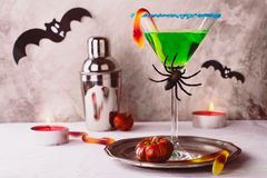 Halloween cocktail witch's brew Stock Photo